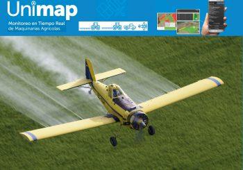 Remotizador de Datos Online   para Pulverizadores terrestres y Aéreo