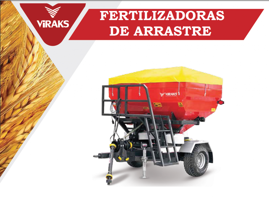 FERTILIZADORAS DE ARRASTRE